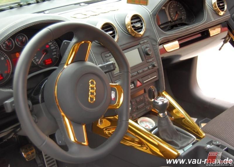 Audi a4 custom umbau for Audi a4 interieur tuning
