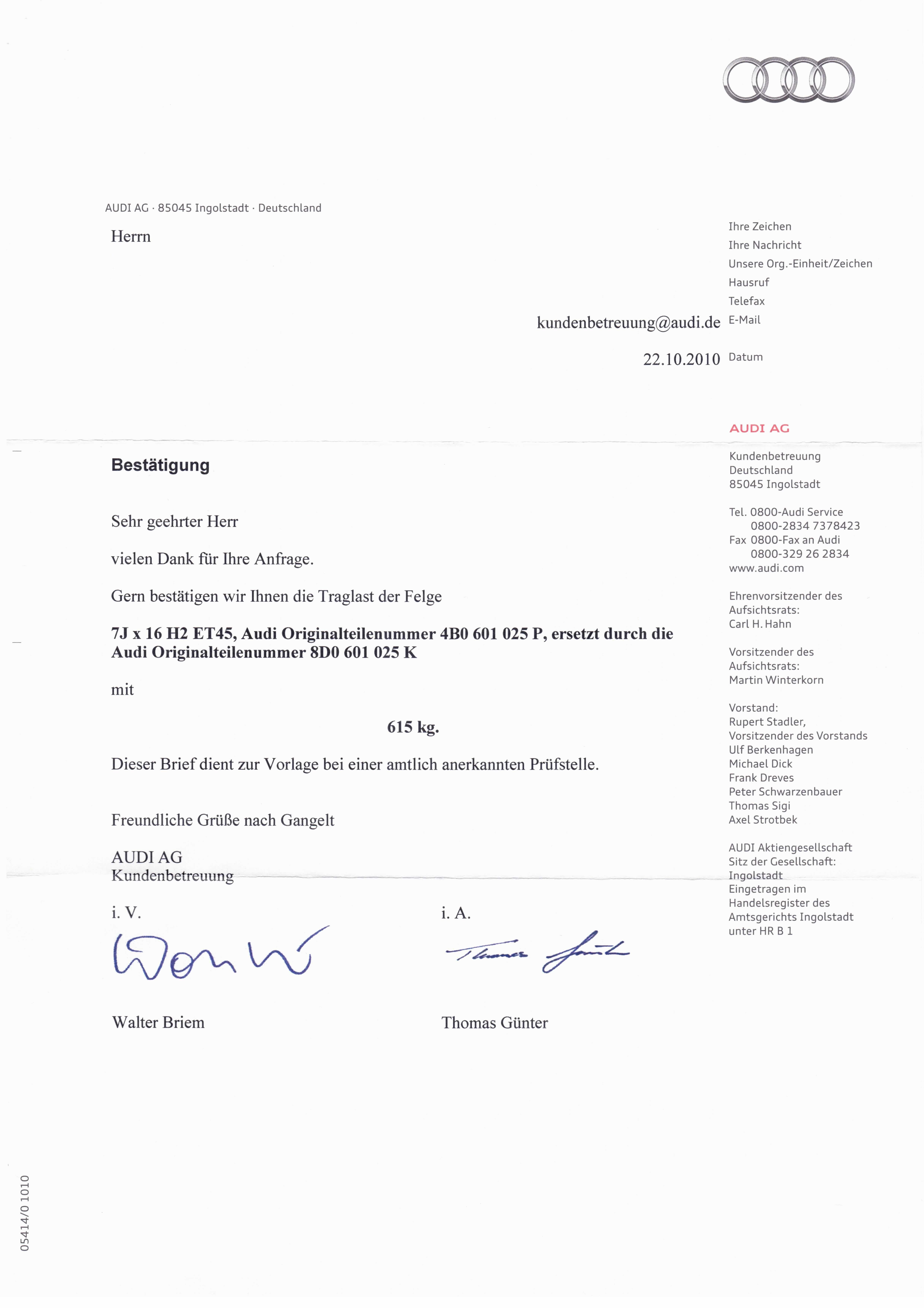 Audi4Ever - a4e Wissen