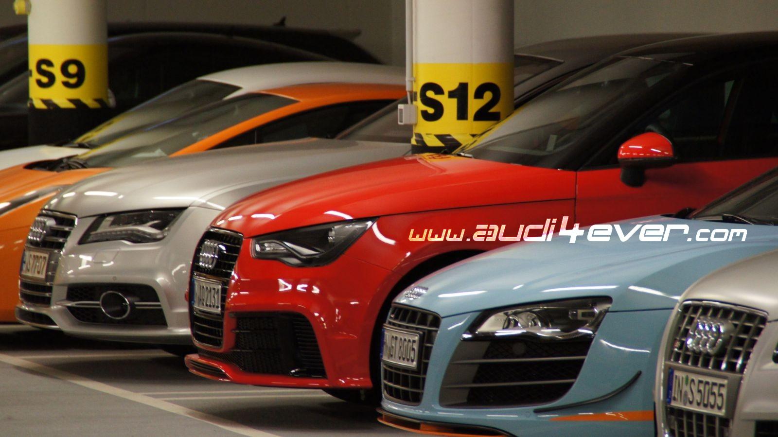 Audi4ever a4e blog detail a4e audi4ever spotted for Garage audi pau