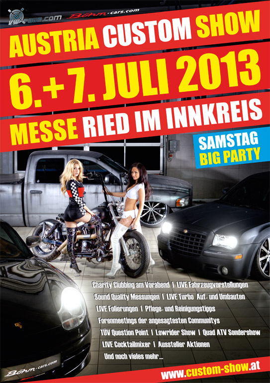 Austria Custom Show 6.-7. Juli 2013