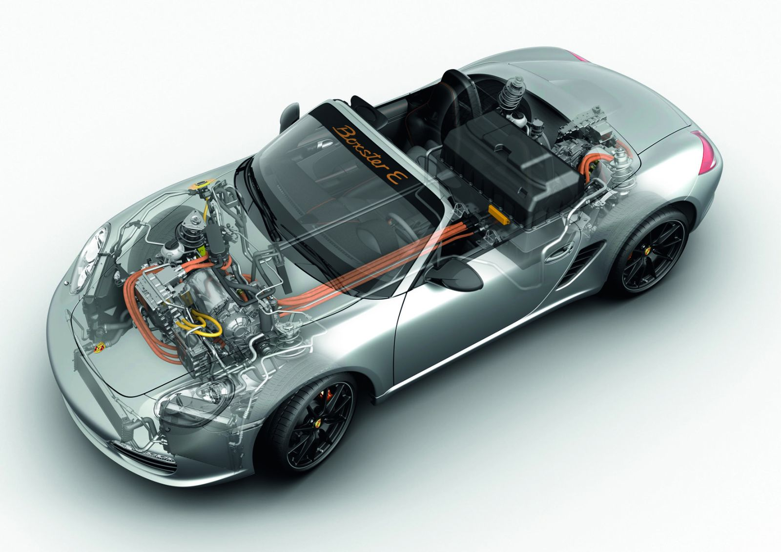 Porsche Weitere Themen Boxster E Small on Engine Cutaway Diagram