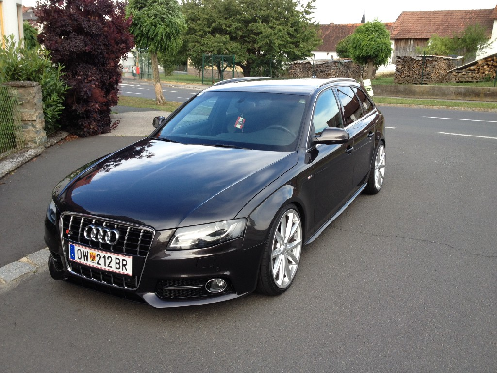 Audi4ever a4e blog detail badtoy vorstellung for S line exterieurpaket a4