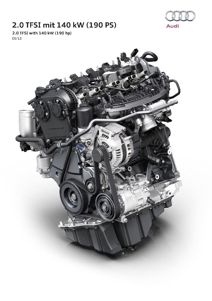 Weltpremiere beim Wiener Motorensymposium: neues Hocheffizienz-Triebwerk von Audi