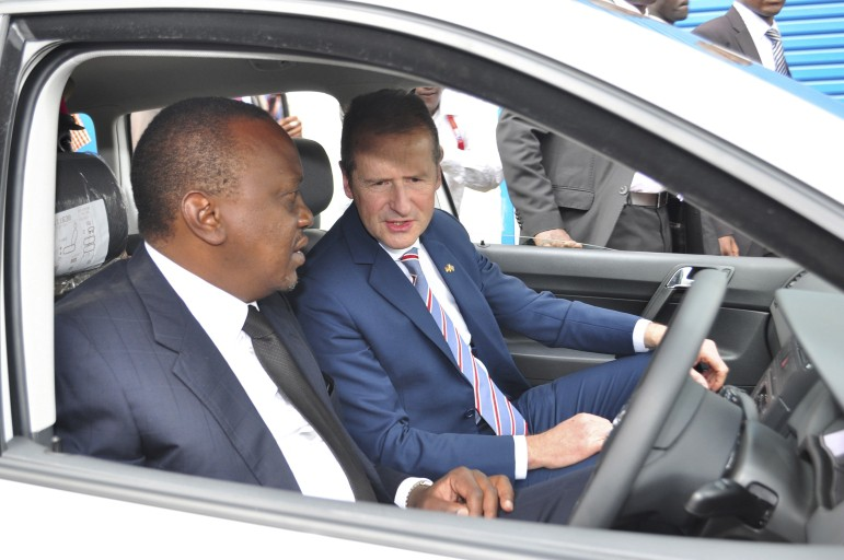 Volkswagen eröffnet Fahrzeugfertigung in Kenia