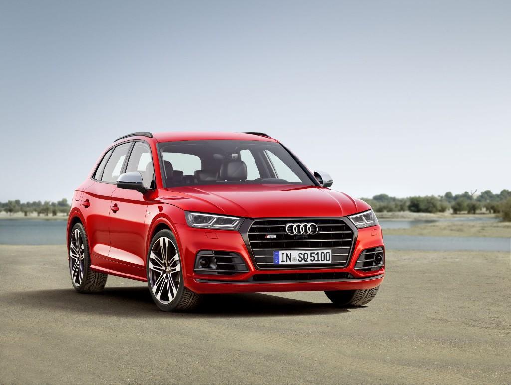 Dynamisch und emotional: der neue Audi SQ5 3.0 TFSI