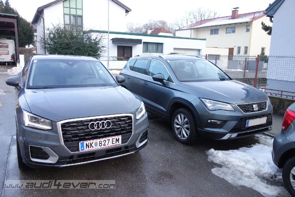 Vergleichstest: Audi Q2 gegen Seat Ateca