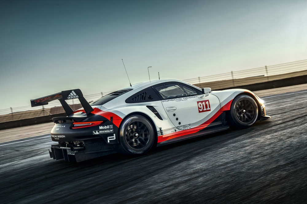 Porsche benennt Fahrerpaarungen im neuen 911 RSR für Weltmeisterschaft