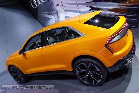 Talentierter Mehrkämpfer: Audi Q8 sport concept