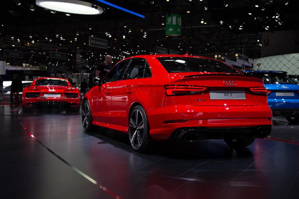 Audi RS 3 Limousine und RS 3 Sportback - Dynamik im Duett