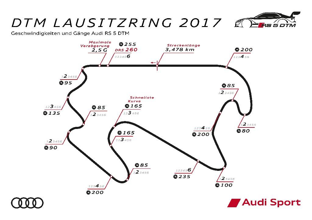 Audi und die Fans heiß auf die Lausitz