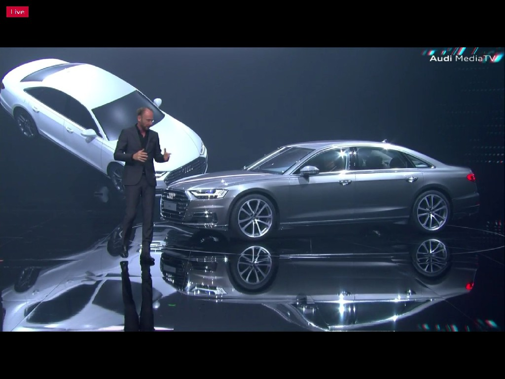 Der neue Audi A8: Zukunft der Luxusklasse