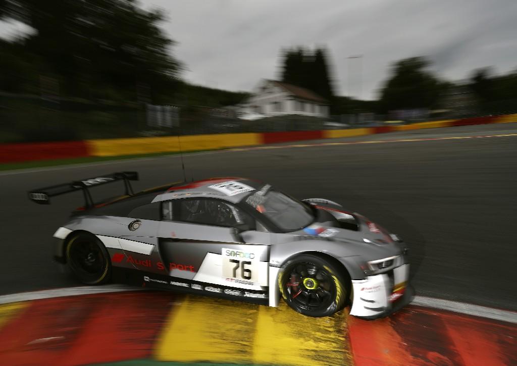 Audi startet aus Reihe zwei in die 24 Stunden von Spa