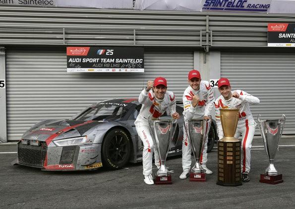 Fakten zum vierten Audi-Sieg in Spa