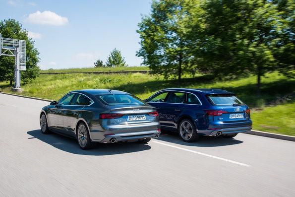 Audi A4 und A5 ab sofort als g-tron bestellbar