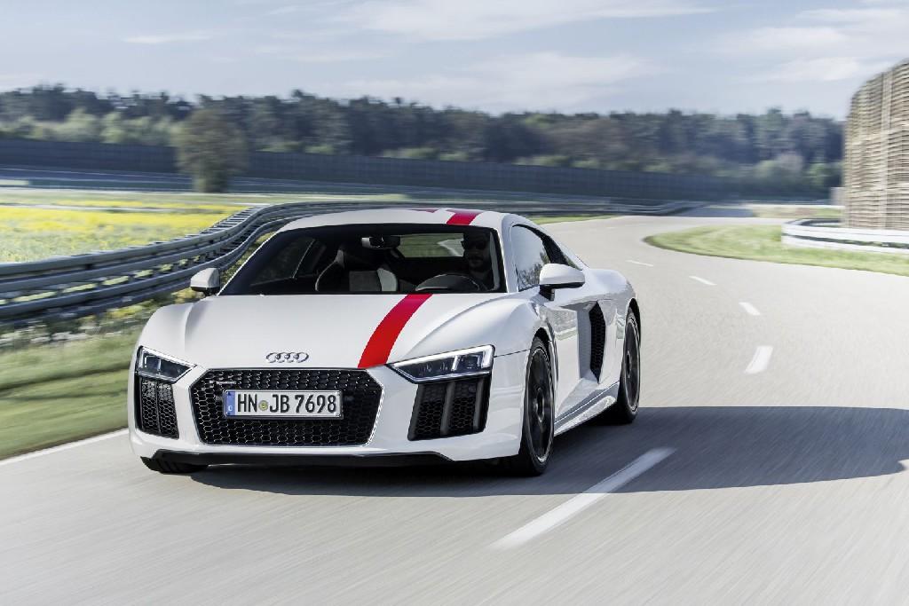 Der neue Audi R8 V10 RWS