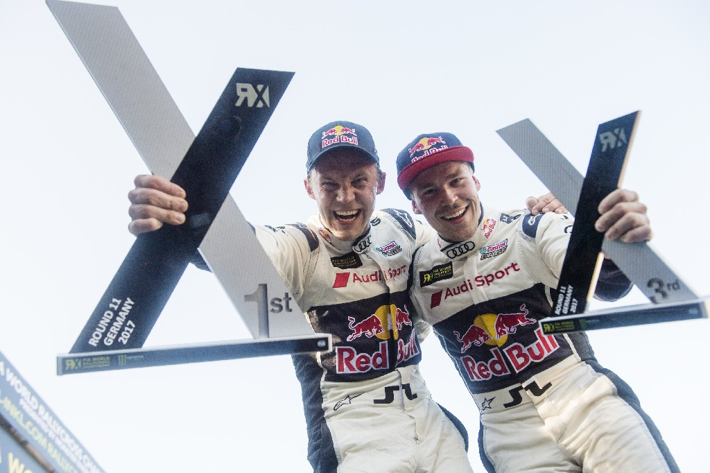 Vierter Saisonsieg in der Rallycross-WM für Audi-Pilot Ekström