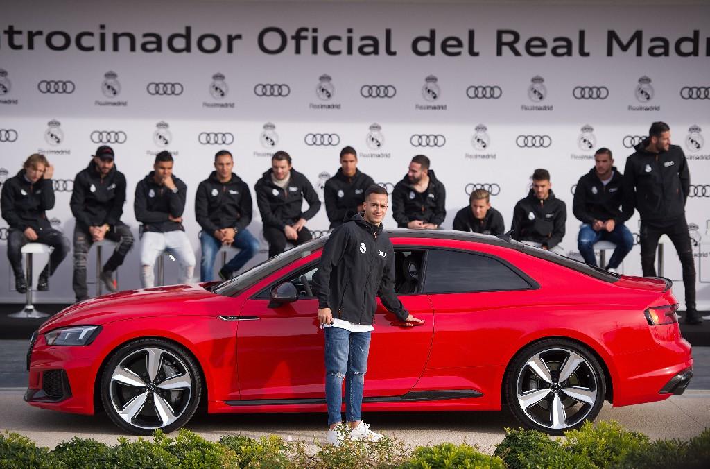 Audi übergibt Dienstautos an Real Madrid
