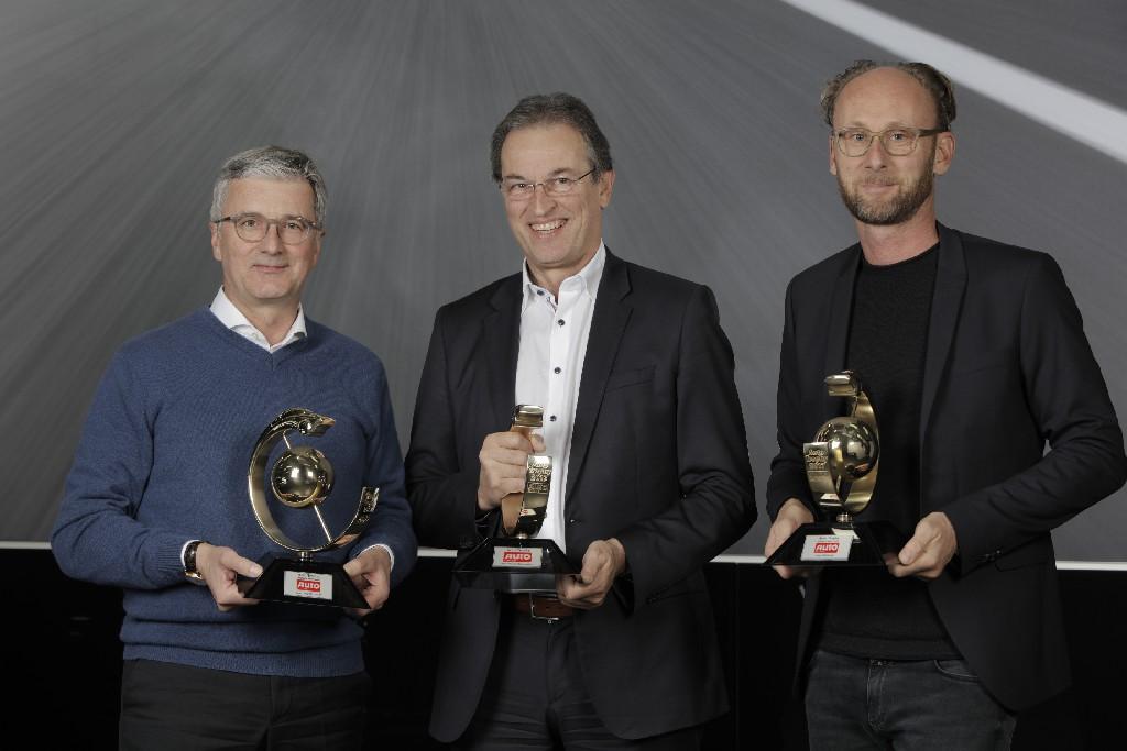 Auto Trophy 2017 - 3 erste Plätze für Audi