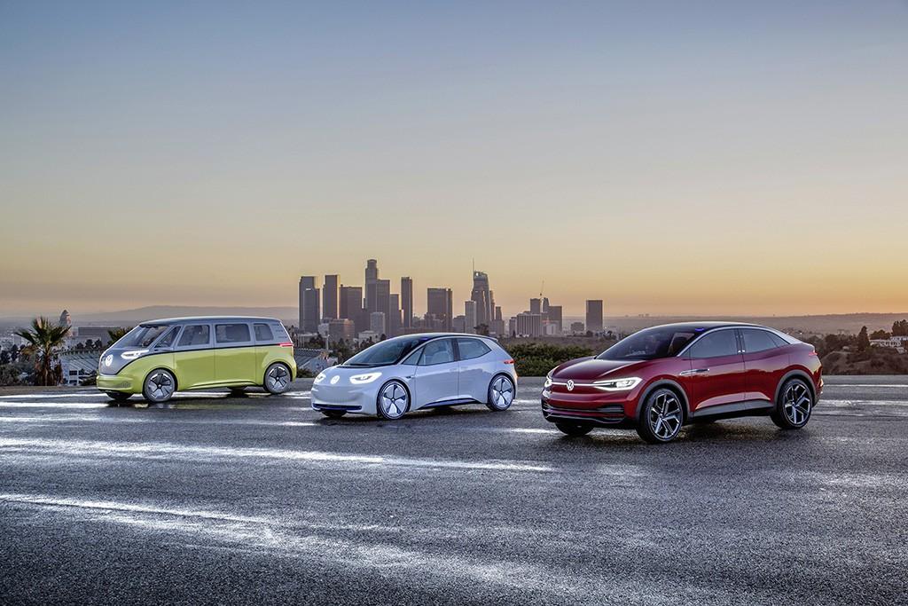VW auf der Los Angeles Auto Show 2017