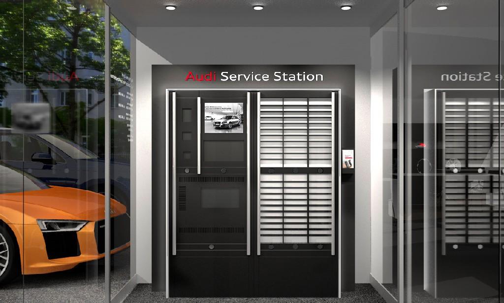 24h-Audi Service Station sorgt für höchsten Kundenkomfort