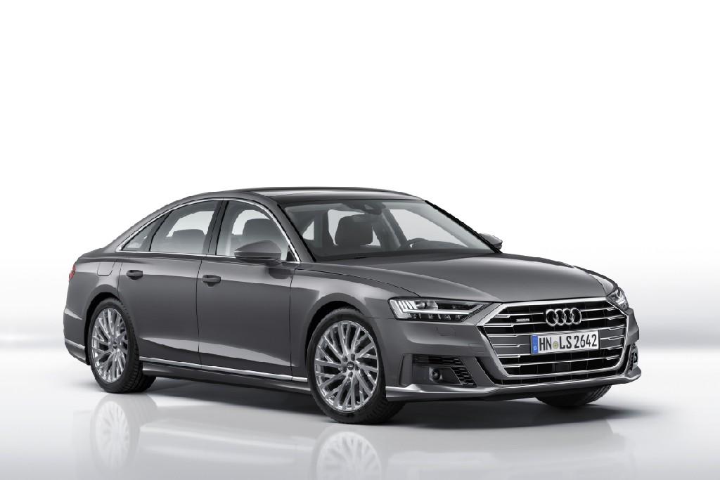 Audi A8 Sport-Exterieurpaket und Sportsitze
