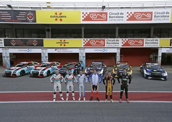 Audi-Teams startklar für Premiere in WTCR ? FIA-Tourenwagen-Weltcup