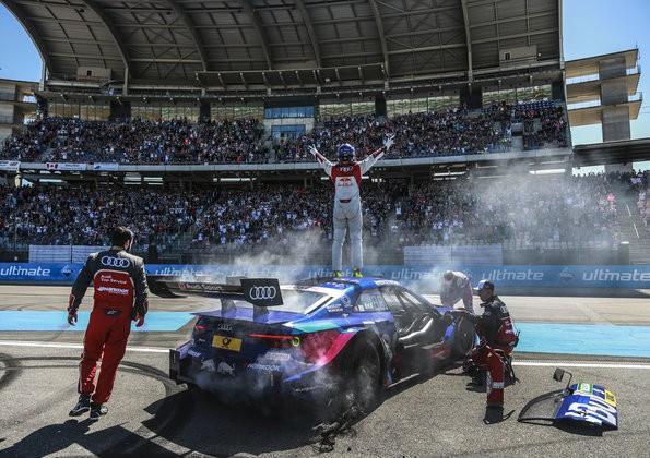 Audi-Pilot Rockenfeller Zweiter im DTM-Krimi von Hockenheim