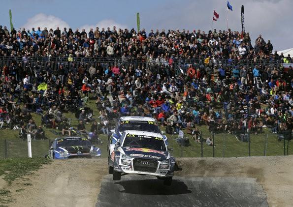 Mutprobe für Audi-Piloten bei Rallycross in Belgien