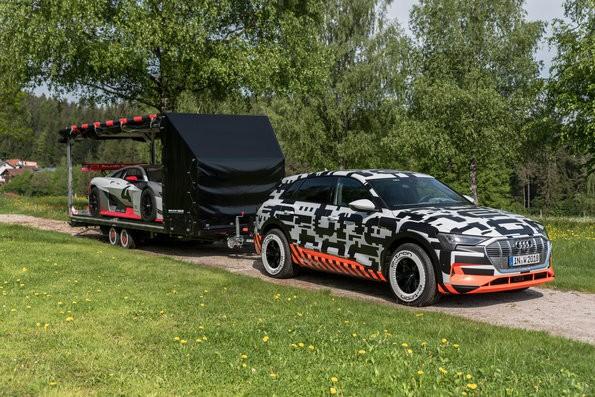 Audi e-tron-Prototyp beim Wörthersee-Treffen