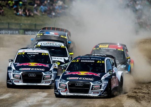 Gemischte Gefühle bei EKS Audi Sport in Belgien