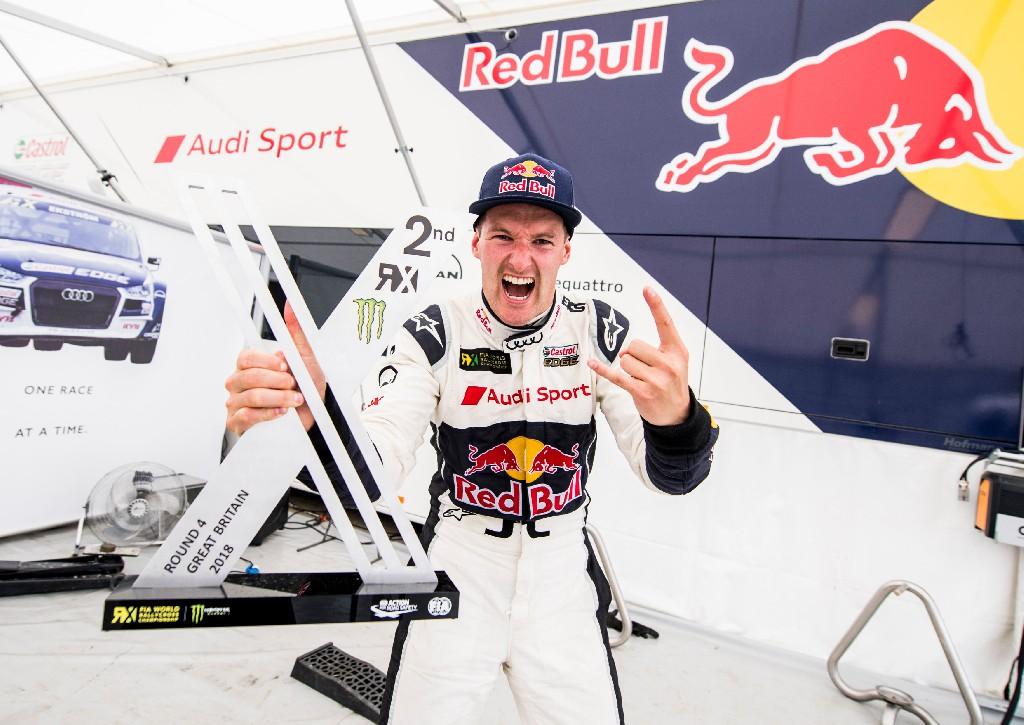 Erstes Podium für Audi-Pilot Andreas Bakkerud in der WRX