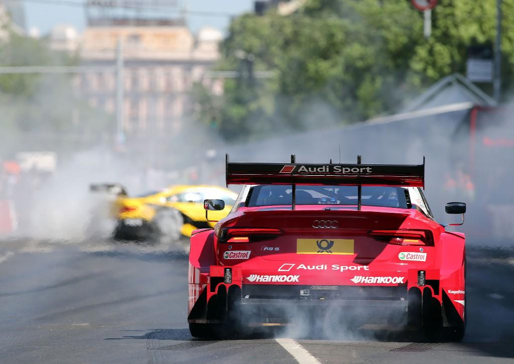 Champion René Rast nach schwerem Unfall wieder zurück im Audi RS 5 DTM