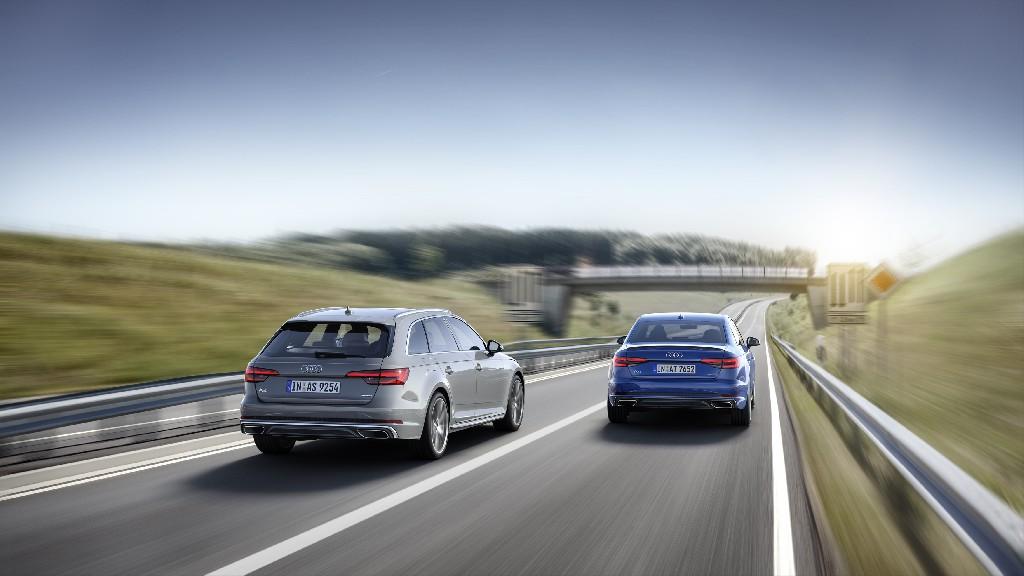 Facelift Audi A4 Limousine und Audi A4 Avant