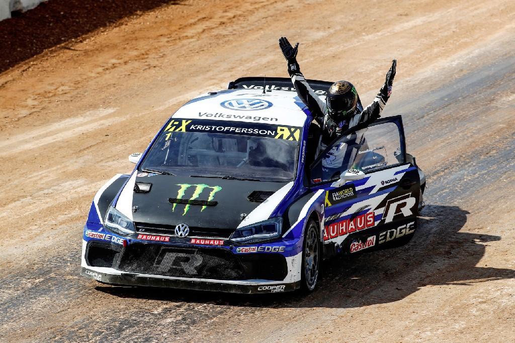 Johan Kristoffersson ist FIA Rallycross-Weltmeister 2018