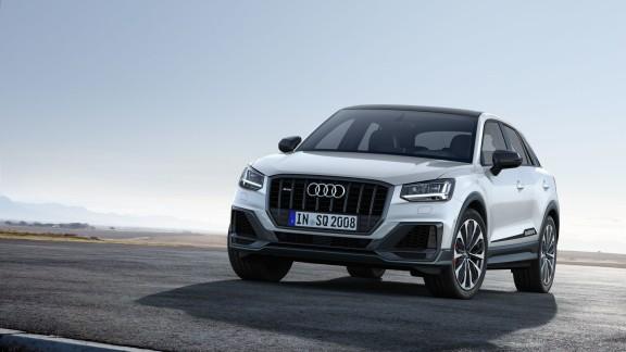 Ausnahme-Sportler unter den kompakten SUV: der neue Audi SQ2