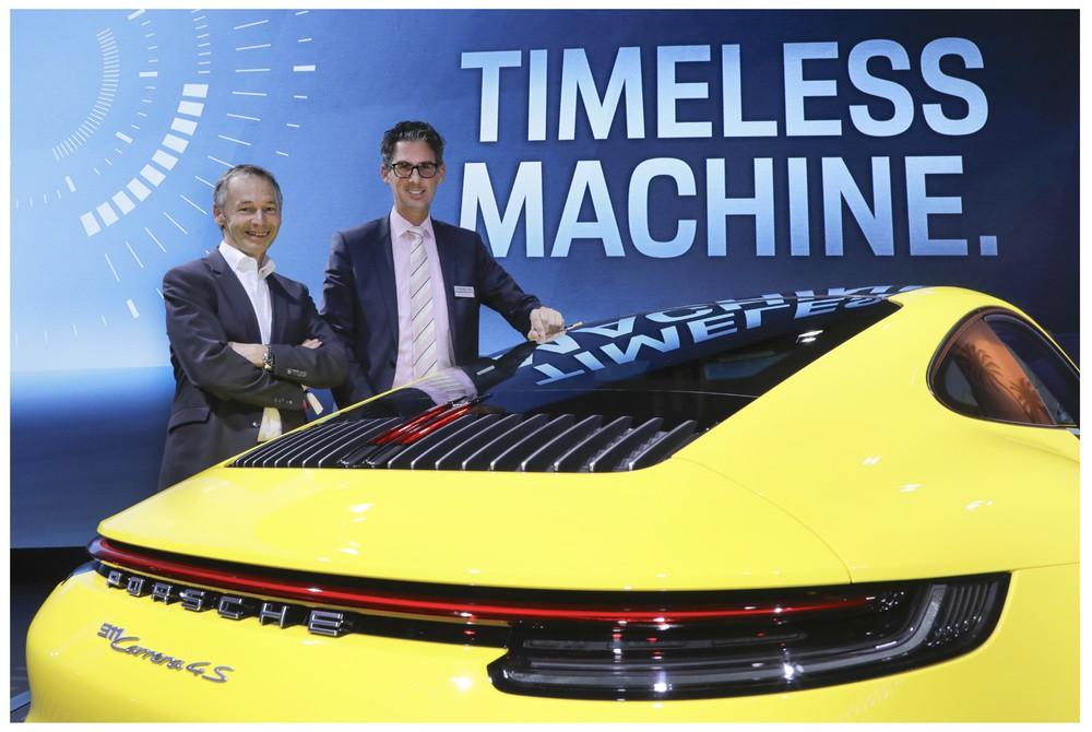 Wechsel bei Porsche: Frank-Steffen Walliser folgt auf August Achleitner als Baureihenleiter 911