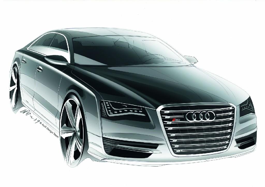Der Audi S8 - luxuriöse Sportlichkeit