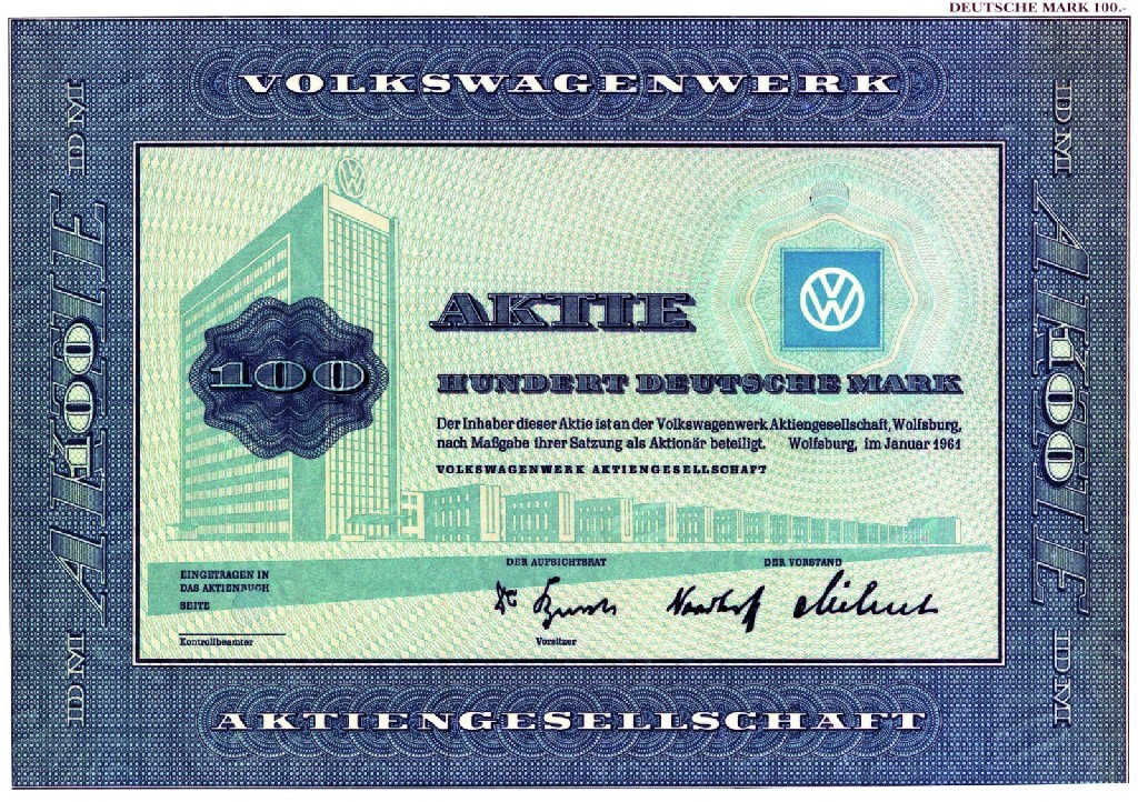 Audi Aktie