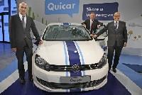 """Carsharing von Volkswagen: """"Quicar"""" geht in Hannover an den Start"""