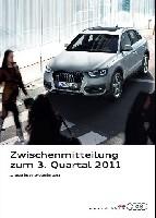 Operatives Rekordergebnis für Audi Konzern: EUR 1,4 Mrd. im dritten Quartal