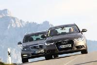 Audi A6 und Mercedes E-Klasse im Test
