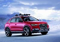 Wintersport und Funktionalität - der Audi Q3 Vail