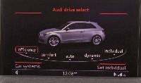 das erste Bild vom neuen Audi A3 - auf einem MMI Bildschirm in Las Vegas!!!