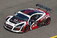 Video vom Audi R8 GRAND-AM Debüt in Daytona