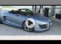 Audi R8 GT in Istanbul und Audi R8 GT Spyder - Der ultimative Spyder