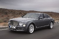 BENTLEY ACCELERATES INTO 2012