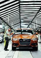 Audi am Standort Martorell