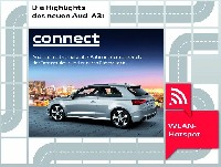 der Audi A3 - Audi connect