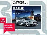 der Audi A3 - Die Fahrerassistenzsysteme