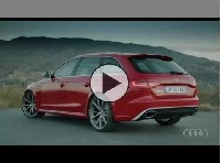 Der Audi RS4 Avant in Aktion => Video